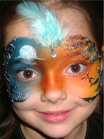 Full Face Painting Images